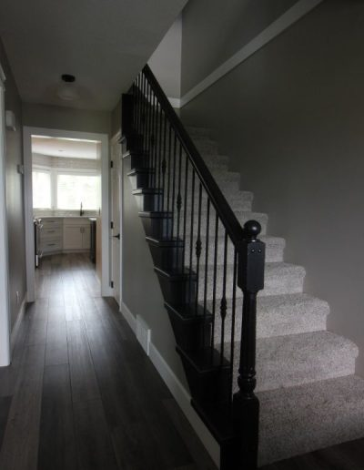 Updated Stairs and railings